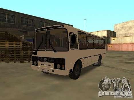 ПАЗ 4234 v.2 для GTA San Andreas