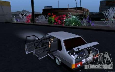 ВАЗ 21099 Vip Style для GTA San Andreas вид слева
