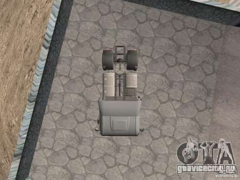 Iveco Stralis GTS для GTA San Andreas вид справа