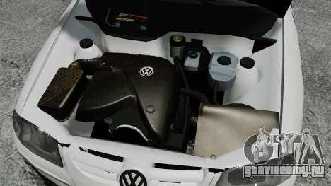 Volkswagen Parati G4 PMESP ELS для GTA 4 вид изнутри