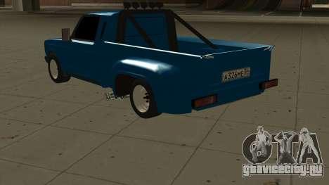ВАЗ 2107 Форд для GTA San Andreas