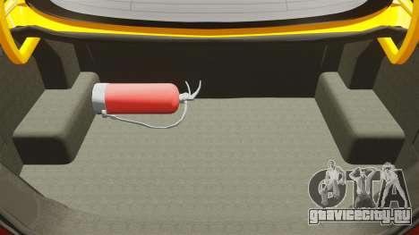 Mercedes-Benz CLK 55 AMG для GTA 4 вид сверху