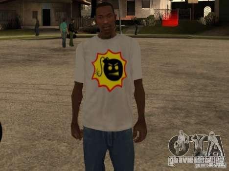 Новая футболка для GTA San Andreas третий скриншот
