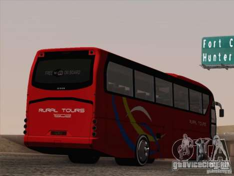 Neoplan Tourliner. Rural Tours 1502 для GTA San Andreas колёса
