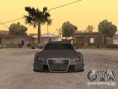 Audi A4 Touring для GTA San Andreas вид слева