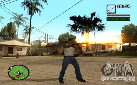 АКС-74У для GTA San Andreas третий скриншот