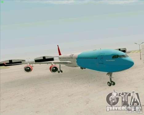 Airbus A-340-600 Plummet для GTA San Andreas