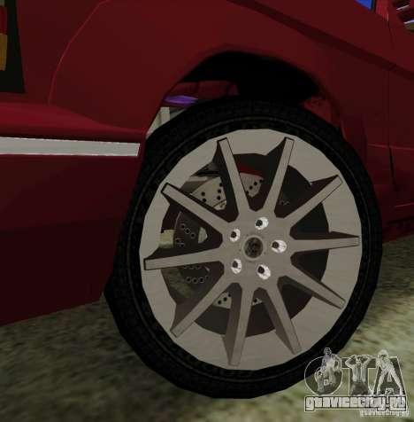 Huntley Freelander для GTA San Andreas вид сверху