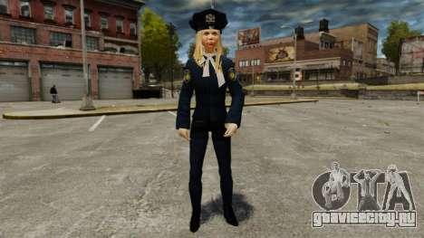 Новые девушки-полицейские v4.0 для GTA 4 второй скриншот