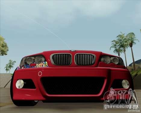 BMW E46 для GTA San Andreas вид слева