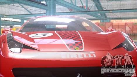 Ferrari 458 Italia 2010 Autovista для GTA 4 вид справа