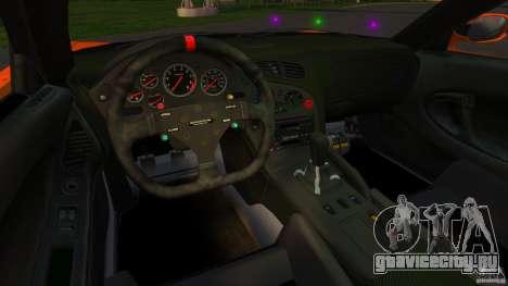 Mazda RX-7 Veilside Tokyo Drift для GTA 4 вид сзади