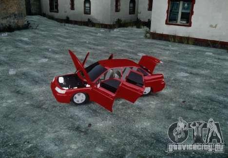 ВАЗ 2110 для GTA 4 вид сверху