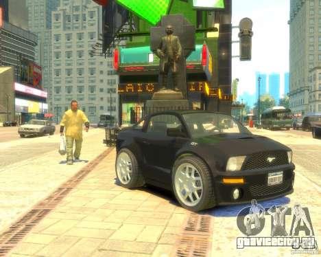 Ford Mustang Mini GT Beta для GTA 4