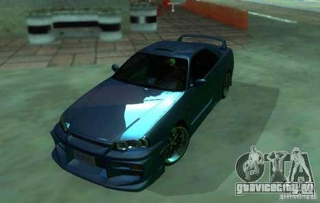 Nissan Skyline GT-R34 для GTA San Andreas