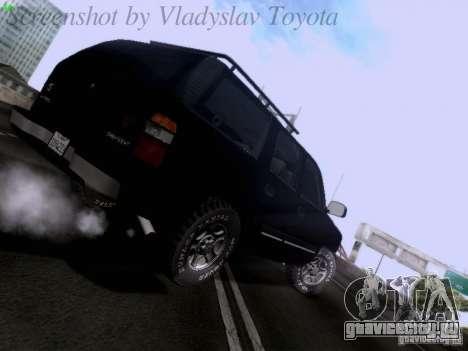 Chevrolet Tahoe 2003 SWAT для GTA San Andreas вид справа