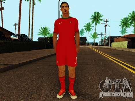Криштиану Роналду v4 для GTA San Andreas