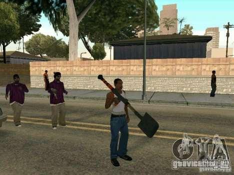 Лопатомёт для GTA San Andreas второй скриншот