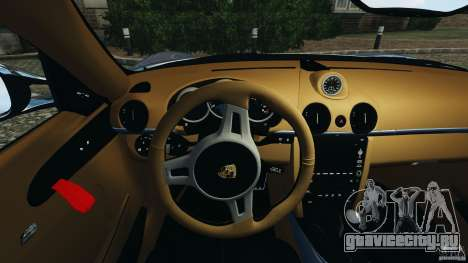 Porsche Cayman R 2012 [RIV] для GTA 4 колёса