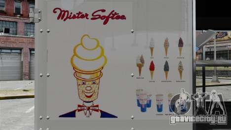 Новый фургон мороженщика для GTA 4 четвёртый скриншот