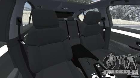 BMW M5 2012 для GTA 4 вид изнутри