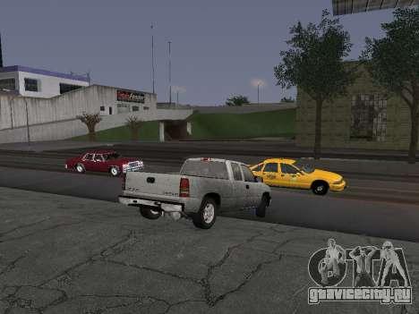 Chevorlet Silverado 2000 для GTA San Andreas вид сзади