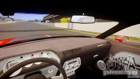 Dodge Challenger RT 2006 для GTA 4 вид сзади
