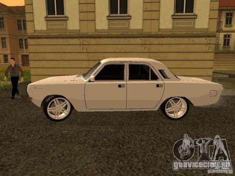 ГАЗ 24-10 Волга для GTA San Andreas вид слева