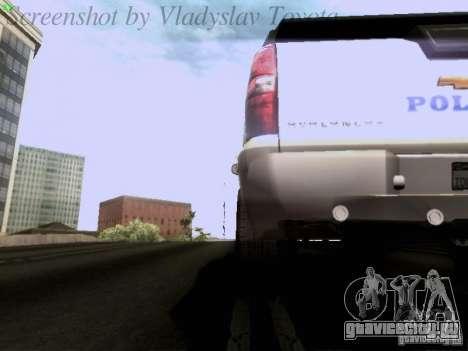 Chevrolet Avalanche 2007 для GTA San Andreas вид сбоку