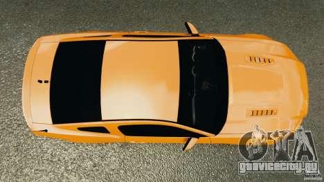 Ford Mustang 2013 Police Edition [ELS] для GTA 4 вид справа