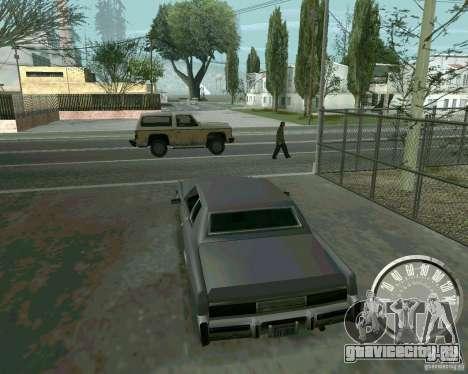Классический спидометр Mustang для GTA San Andreas второй скриншот