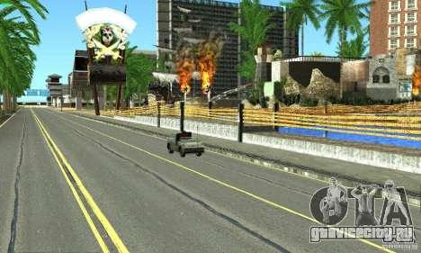Real HQ Roads для GTA San Andreas одинадцатый скриншот