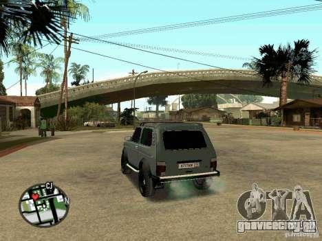 Лада 21213 Нива для GTA San Andreas вид слева