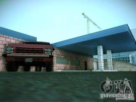 Новый гараж в San-Fierro для GTA San Andreas восьмой скриншот