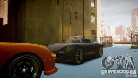 Comet Speedster для GTA 4 вид сзади