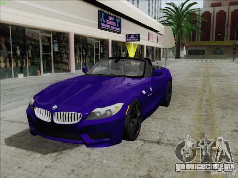 BMW Z4 2011 для GTA San Andreas
