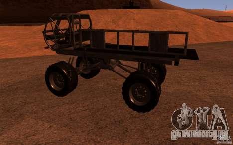 Heist Truck для GTA San Andreas вид слева