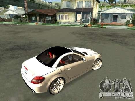 Mercedes Benz SLK 300 для GTA San Andreas вид сзади слева