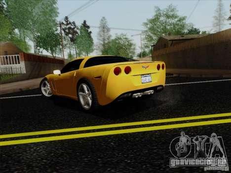 Chevrolet Corvette Z51 для GTA San Andreas вид слева