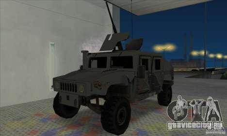 Humvee of Mexican Army для GTA San Andreas
