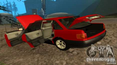 Audi 80 B3 v2.0 для GTA San Andreas вид сзади