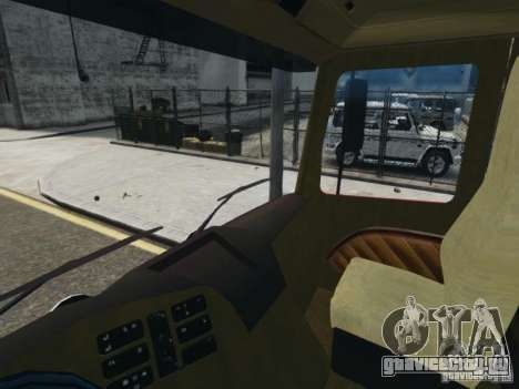 Mercedes-Benz Vanntankbil / Water Tanker для GTA 4 вид сзади
