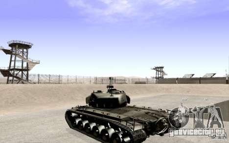 T26 E4 Super Pershing v1.1 для GTA San Andreas вид слева