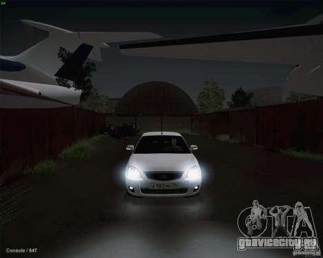 Lada 2170 для GTA San Andreas вид сбоку