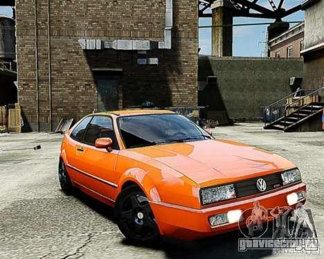 Volkswagen Corrado VR6 для GTA 4 вид сзади слева