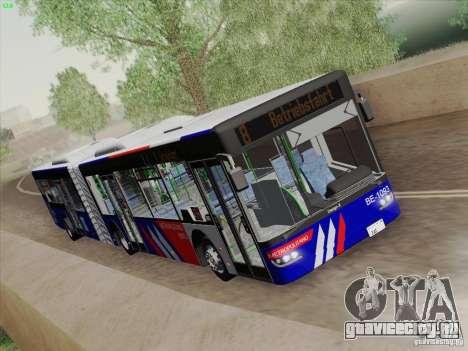 Design X3 для GTA San Andreas вид изнутри