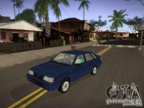 Daewoo-FSO Polonez Atu Plus 1.6 для GTA San Andreas вид сзади