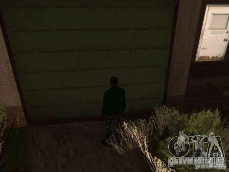 Пользоваться складом вашей банды для GTA San Andreas второй скриншот