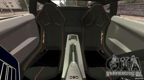Lamborghini Gallardo LP570-4 Superleggera Police для GTA 4 вид изнутри