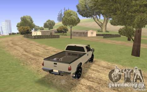 Ford F-250 для GTA San Andreas вид слева